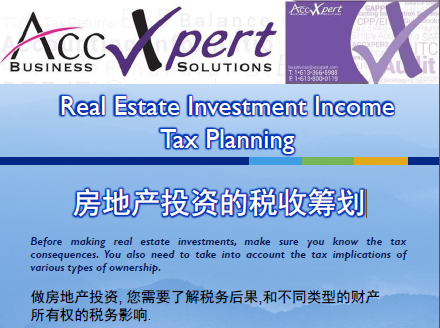 Tax Planning for Rental Income Tax
